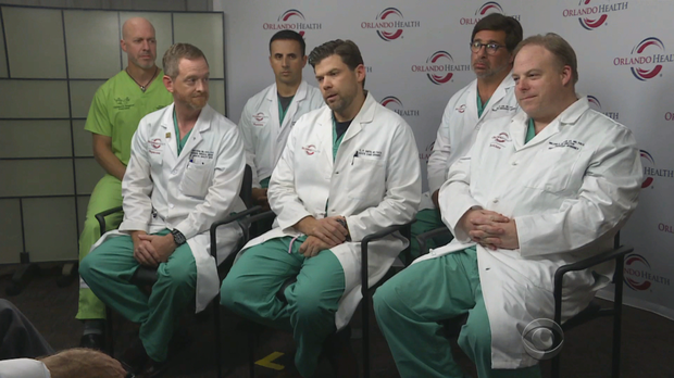 "Image of Orlando surgeons speak out: ""This is not something that goes away"""